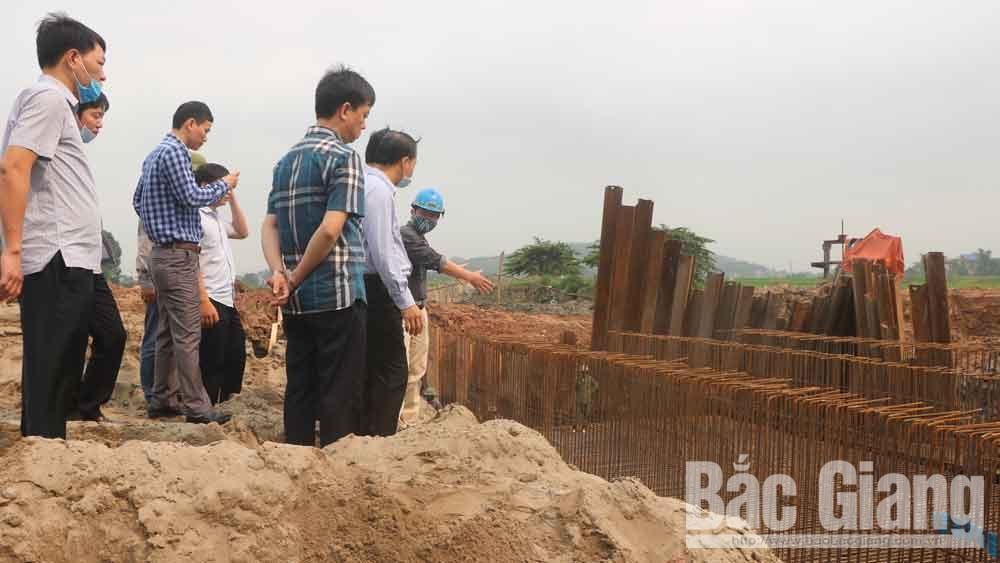 TP Bắc Giang đẩy nhanh tiến độ các công trình trọng điểm chào mừng đại hội Đảng các cấp