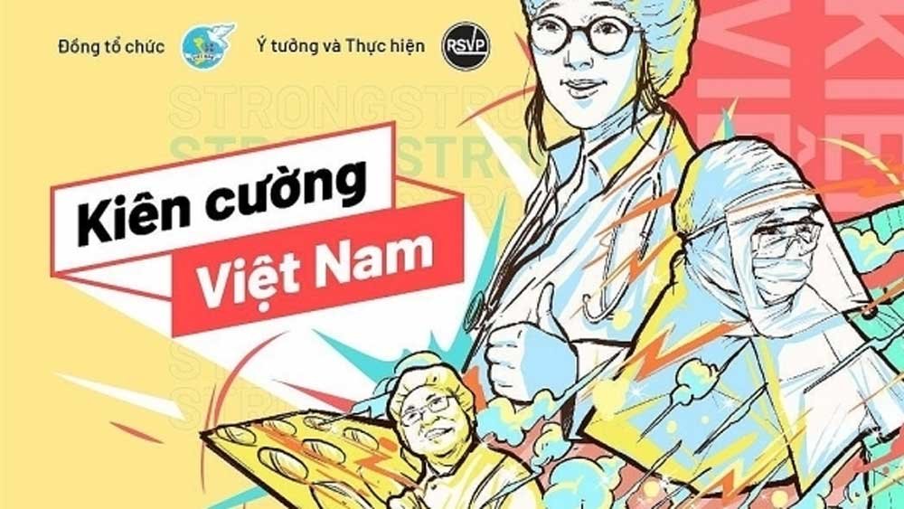 Online music programme, raise funds, Covid-19 fight, Stay strong Vietnam, RSVP Vietnam, Vietnam Fatherland Front, NhacCuaTui