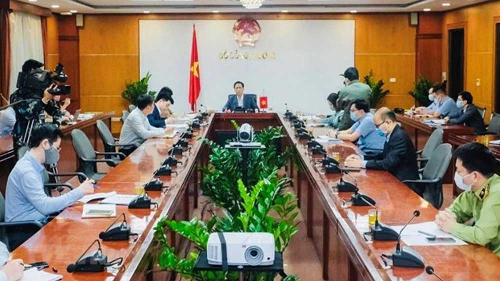 Vietnamese, Chinese officials, maintaining trade, growing backlog, Vietnamese exports, Covid-19 pandemic, bilateral trade, Vietnamese enterprises