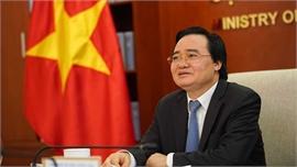 Bộ trưởng Phùng Xuân Nhạ: Đề nghị UNICEF hỗ trợ Việt Nam dạy học từ xa