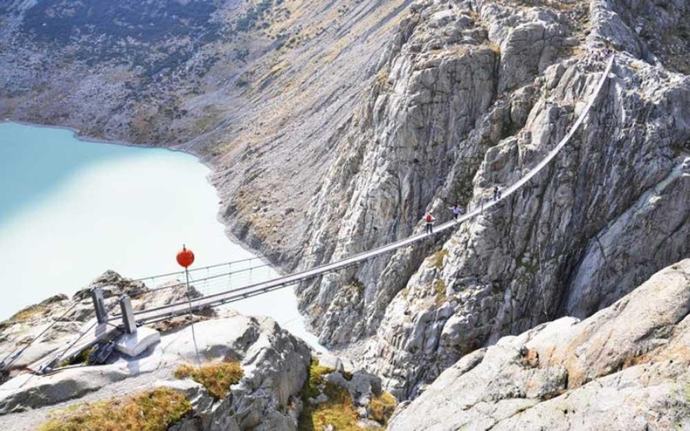 Cầu Trift ở Thụy Sĩ.