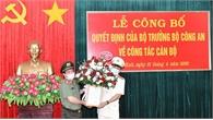Bổ nhiệm Phó Giám đốc Công an tỉnh Ninh Bình