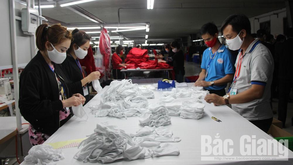 Bac Giang exports 5 million antibacterial face masks to Japan