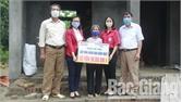 Hội Chữ thập đỏ huyện Tân Yên vận động gần 200 triệu đồng xây dựng nhà nhân đạo