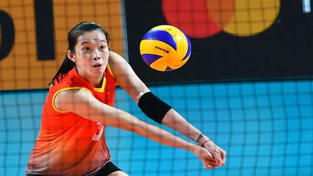 Vietnamese volleyball star, gets offer, renew deal, Japanese club, Tran Thi Thanh Thuy, Denso Airy Bees, new contract, second tallest player