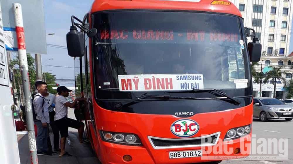Xe khách, xe buýt liên tỉnh được phép hoạt động trở lại từ ngày 24/4.