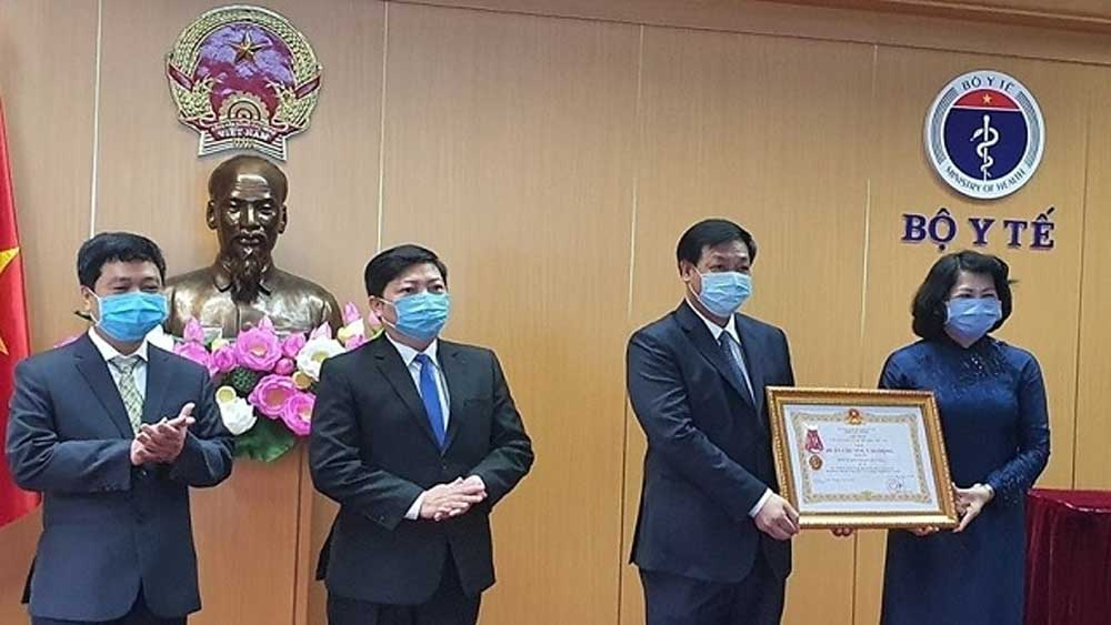 National Hospital of Tropical Diseases honoured with Labour Order