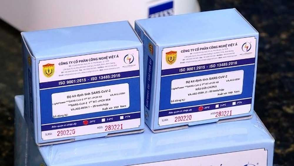 Vietnamese Covid-19 test kits approved by WHO
