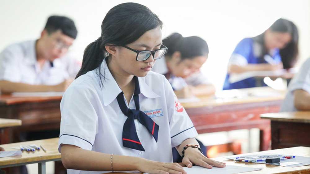 Bài thi tổ hợp THPT vẫn giữ ba đầu điểm