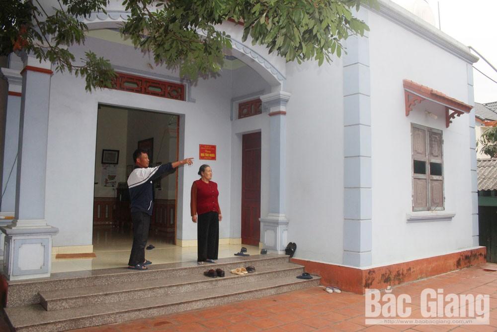 Ngôi nhà tình nghĩa của gia đình anh Nguyễn Văn Tới.