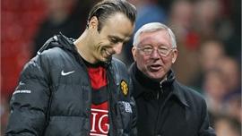 Berbatov sốc khi bị Ferguson loại khỏi chung kết Champions League