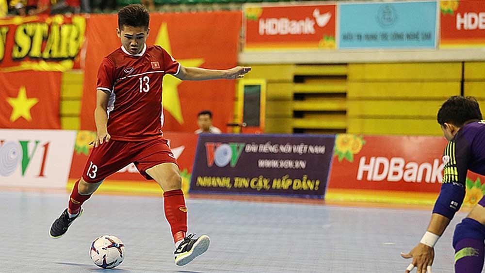 Vietnam futsal team, up a notch, world rankings, ninth place in Asia, improve its position, AFC Futsal Championship 2020