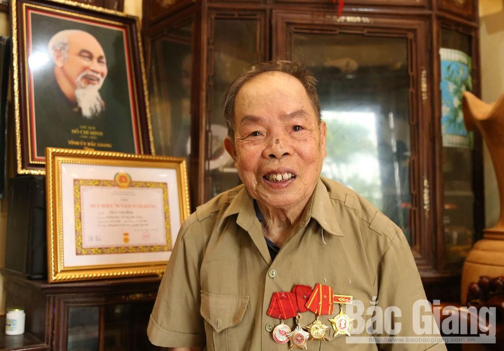đảng viên Trần Văn Bính, đảng viên, chi bộ, Bắc Giang