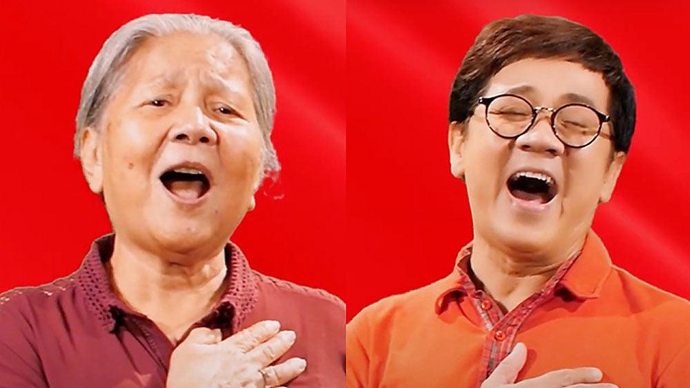 Đông Nhi, Đàm Vĩnh Hưng, Thành Lộc, Kim Xuân, Noo Phước Thịnh, MV 'Niềm tin chiến thắng'