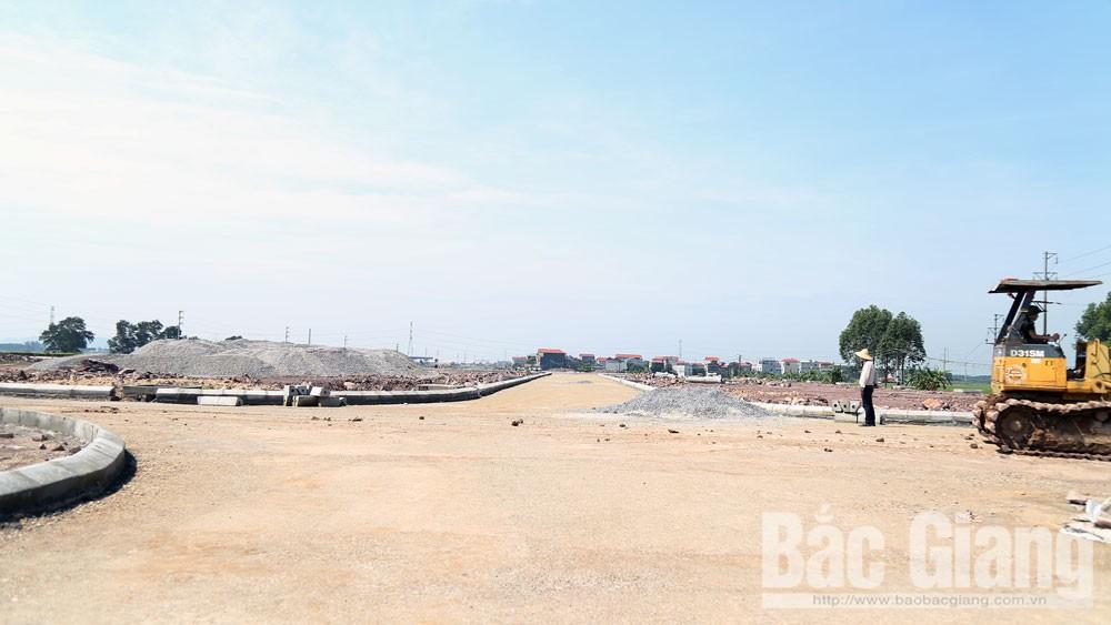 Yên Dũng: Gần 14 tỷ đồng xây dựng hạ tầng khu dân cư mới Nham Sơn