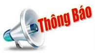 Thông báo thành lập phòng kinh doanh khu vực Bắc Giang