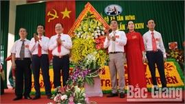 Xã Tân Hưng (Lạng Giang) tổ chức đại hội điểm