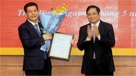 Bí thư Tỉnh ủy Thái Bình được điều động, phân công giữ chức Phó Trưởng Ban Tuyên giáo Trung ương