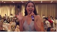 Nữ MC đám cưới hát 'Em gì ơi'