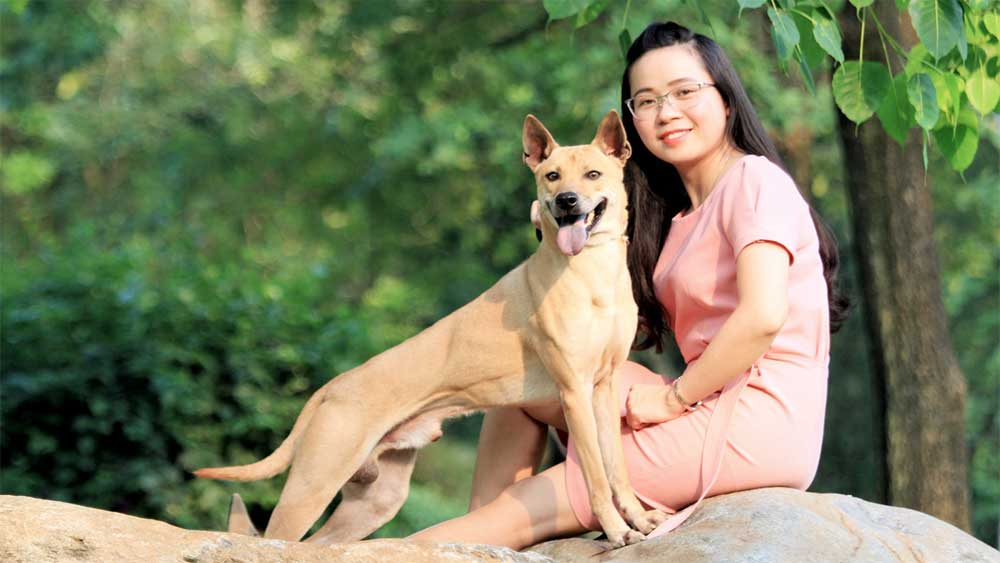 Meet the national Phu Quoc Ridgeback champion barking up a storm