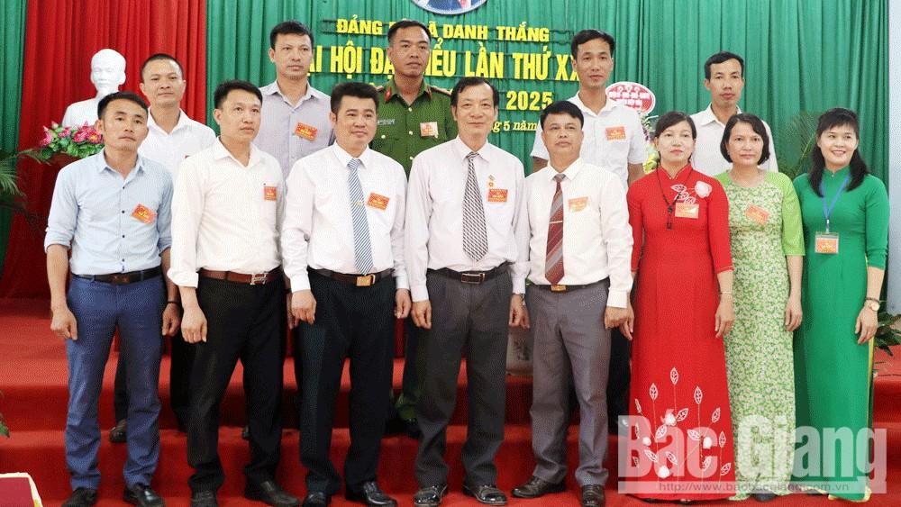 Hiệp Hòa: Tổ chức thành công Đại hội điểm cấp cơ sở xã Danh Thắng