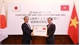 Vietnam presents medical supplies to Japan