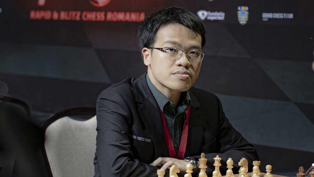 Vietnamese chess star,  Le Quang Liem, top players, Online FIDE Steinitz Memorial, no. 1 chess player,  blitz event