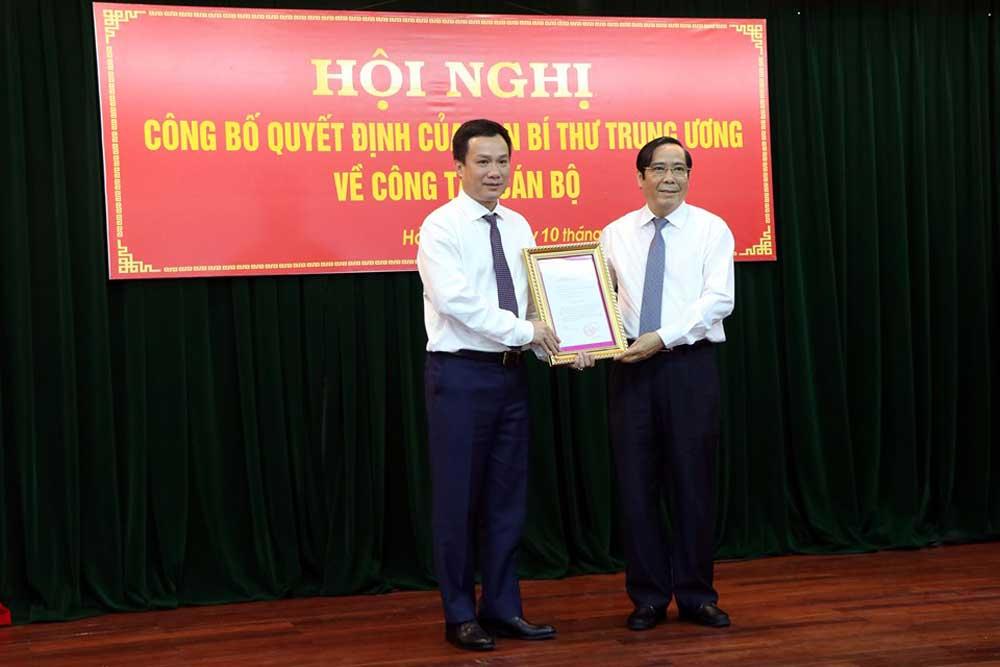 Triệu Thế Hùng, Phó Bí thư Tỉnh ủy Hải Dương, thành phố Hải Dương, Thường trực Tỉnh ủy Hải Dương