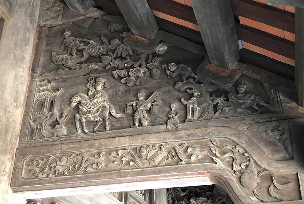 Stunning wooden carvings, centuries-old Boi Khe Temple, Buddhist temple, exquisite wooden carvings, Chinese monk Xuanzang, Tran Dynasty