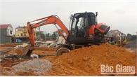Bắc Giang: Đề phòng trộm cắp linh kiện máy xây dựng