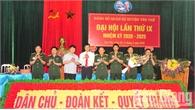 Đảng bộ Quân sự huyện Yên Thế tập trung thực hiện 2 khâu đột phá trong nhiệm kỳ mới