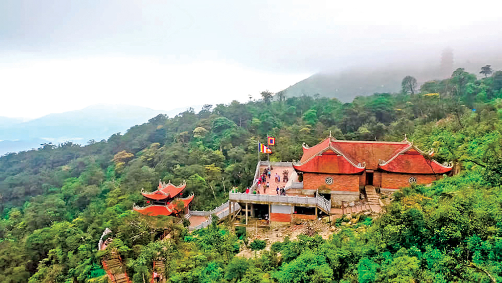 Bac Giang province, journey, Truc Lam Yen Tu Zen Sect, Founders, path on the mountain, several relic sites, tourism development, linkage and coordination