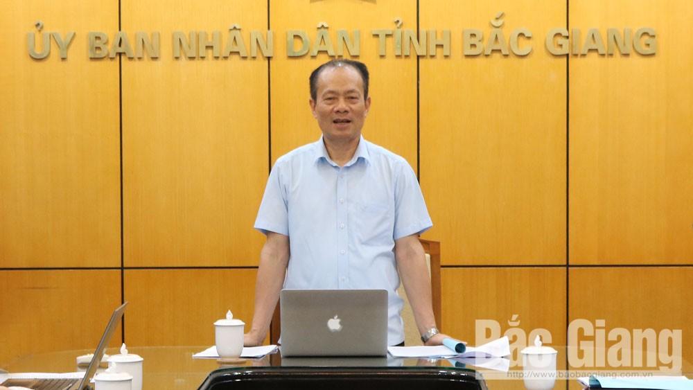 Phó Chủ tịch Thường trực UBND tỉnh Lại Thanh Sơn chỉ đạo: Khắc phục khó khăn, mở rộng thị trường tiêu thụ vải thiều
