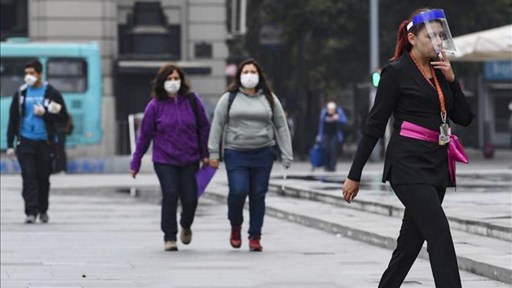 Chile phong tỏa Santiago, dương tính virus corona, SARS-CoV-2
