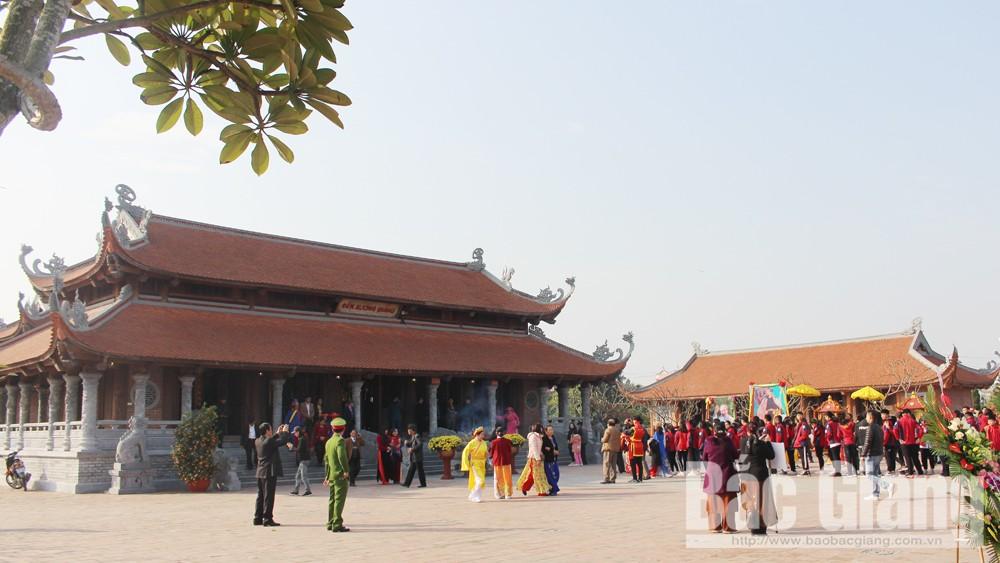 Công nhận điểm du lịch, Di tích Quốc gia đặc biệt,  chiến thắng Xương Giang, cây Dã Hương