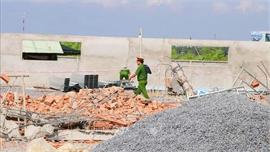 Vụ sập công trình xây dựng ở Đồng Nai: Tạm giữ 3 người để phục vụ công tác điều tra