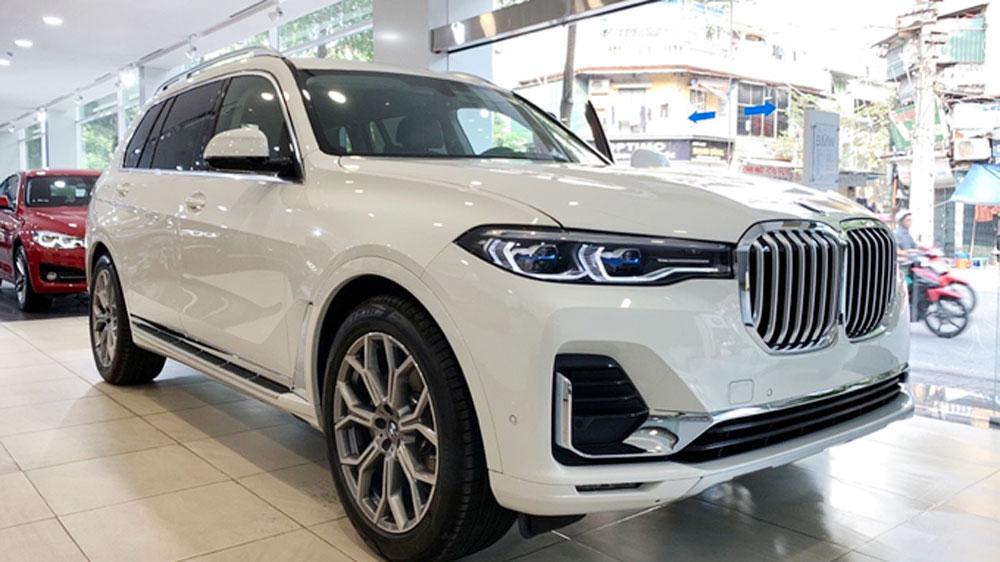giảm giá, BMW X7, X7 giảm giá, giảm giá 650 triệu
