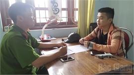 Bắc Giang: Một thanh niên bán xe máy lấy tiền chơi game rồi bịa chuyện bị cướp