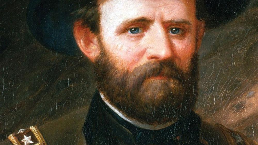 Ulysses Grant, Mark Twain, nội chiến mỹ