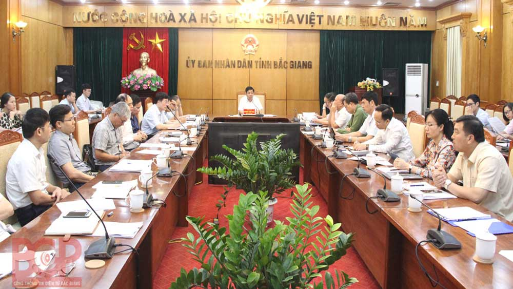 Bac Giang focuses on measures to improve business and investment environment