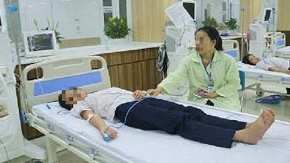 Sức khỏe của hơn 40 học sinh Trường Tiểu học Quốc Tuấn (Hải Phòng) cơ bản ổn định