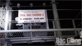 Bắc Giang: Lại xảy ra mất trộm cáp điện khi hệ thống điện vẫn đang hoạt động