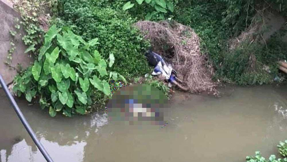 Bắc Giang: Đi xe máy tự lao xuống mương, một nam thanh niên tử vong