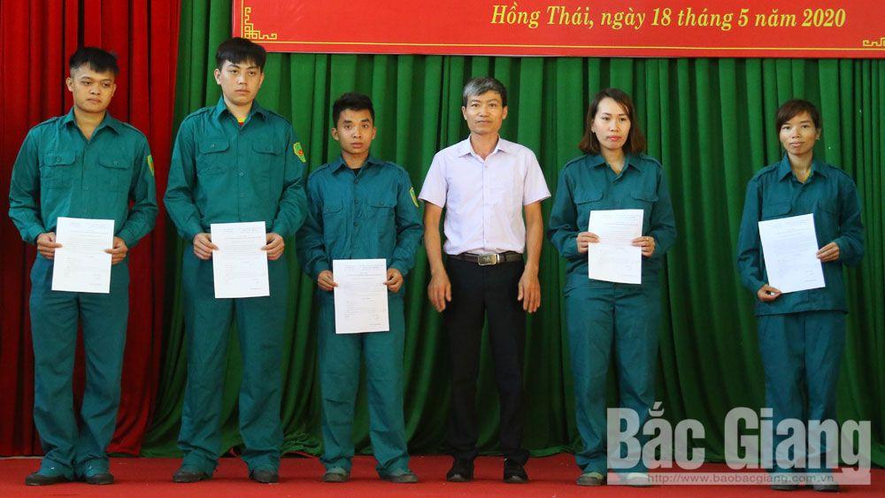 Việt Yên: Tổ chức huấn luyện dân quân tự vệ