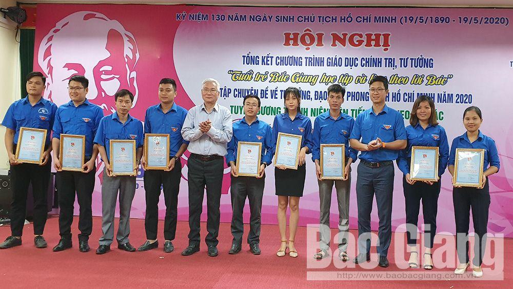 Bắc Giang, tuổi trẻ Bắc Giang học và làm theo Bác, ngày sinh chủ tịch Hồ Chí Minh