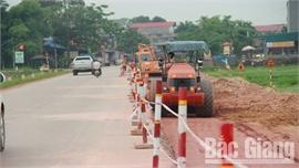 Dồn sức thi công nâng cấp quốc lộ 17