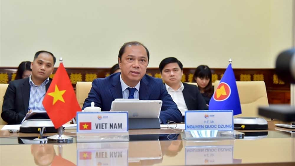 ASEAN senior officials meet online