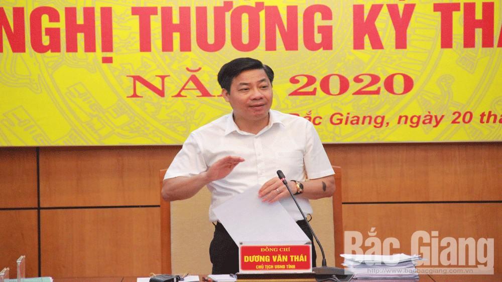 Chủ tịch UBND tỉnh Dương Văn Thái: Tập trung tháo gỡ khó khăn, tạo thuận lợi cho phát triển sản xuất, kinh doanh