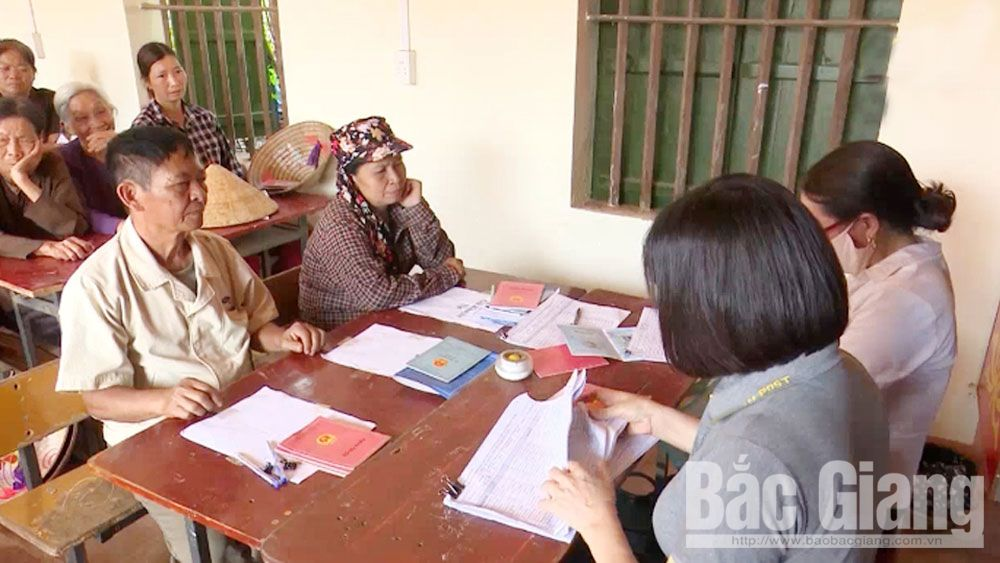 Bac Giang province, support cases, Covid-19 pandemic, total paid amount, budget reserve source, fixed groups