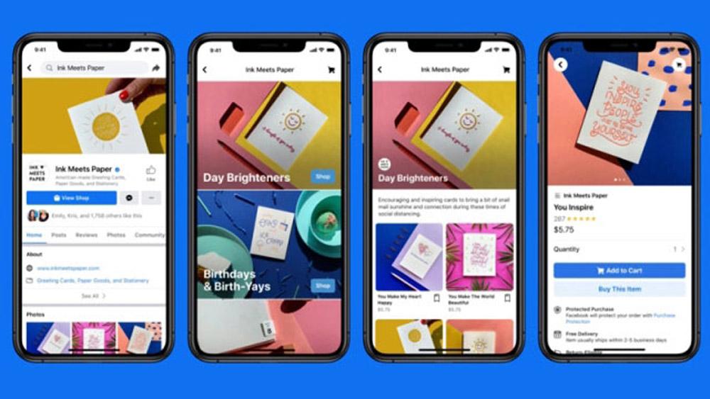 Facebook, giới thiệu dịch vụ mua sắm trực tuyến mới, Facebook dịch vụ mua sắm trực tuyến mới